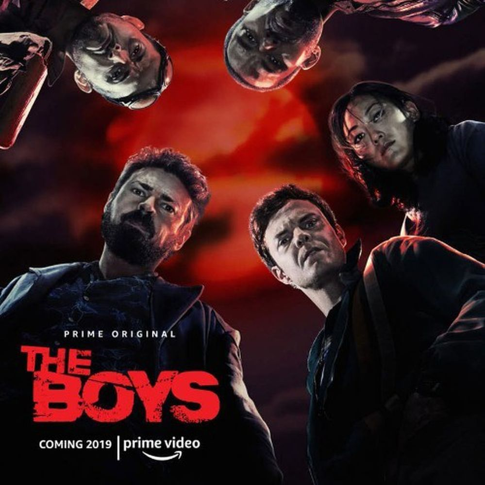 Music from the tv show The Boys on Amazon