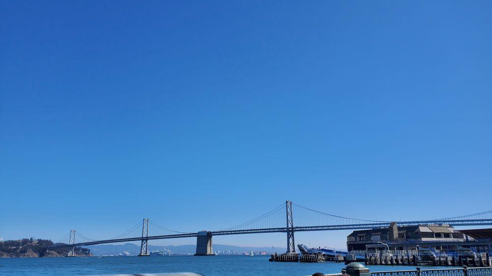 Bay Bridge from SF to OAK