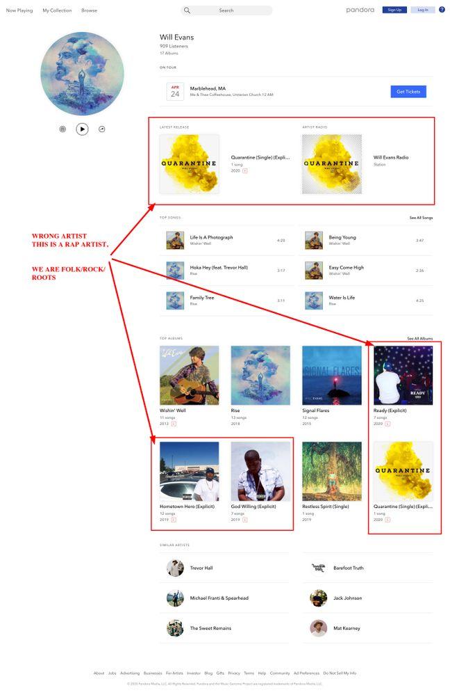 FireShot Capture 018 - Listen to Will Evans - Pandora Music & Radio - www.pandora.com.jpg